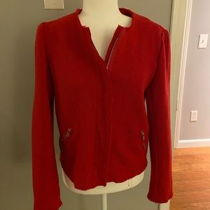 Gap wool jacket/blazer red